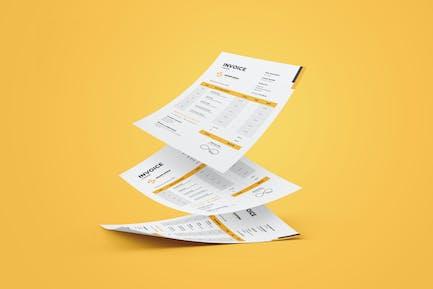 Clean Freelance Invoice