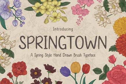 Springtown Typeface