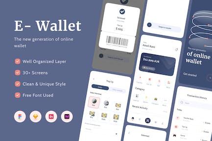 E-Wallet Apps UI Kit