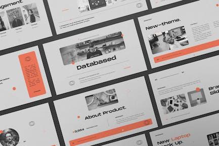 Databased Keynote Business Plan Presentation