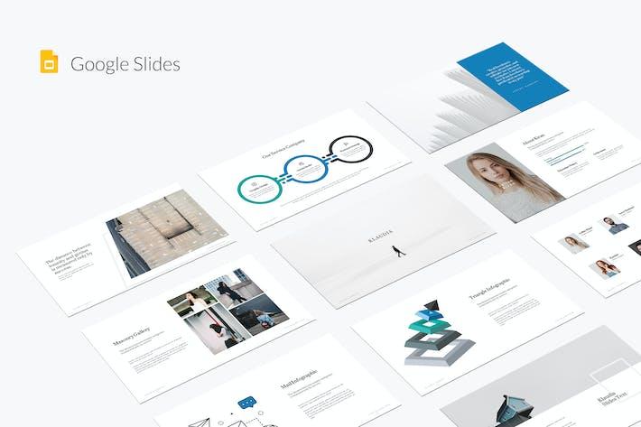 Thumbnail for Klaudia Google Slides Template