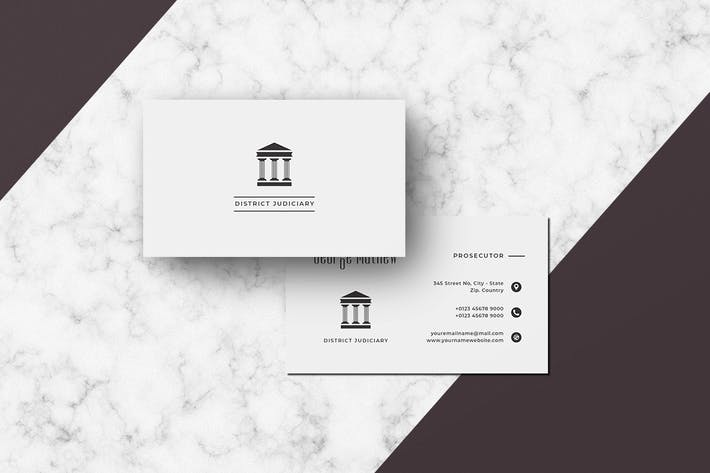 Thumbnail for Business Card Judiciary