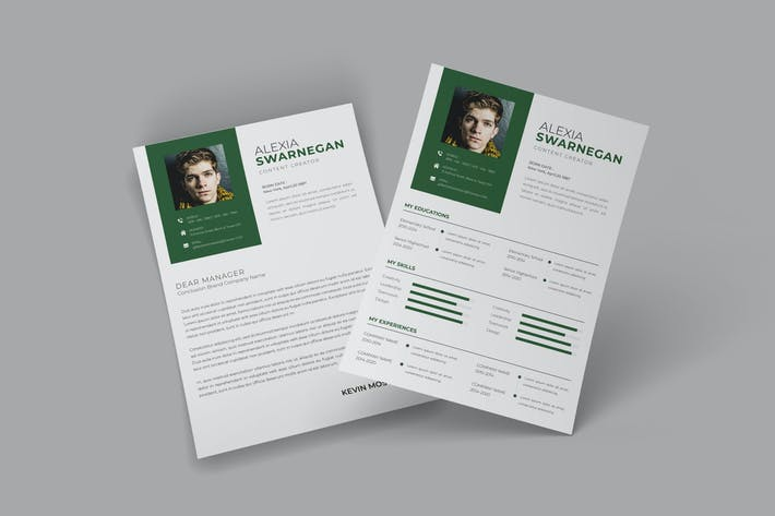 Thumbnail for Simple CV Resume