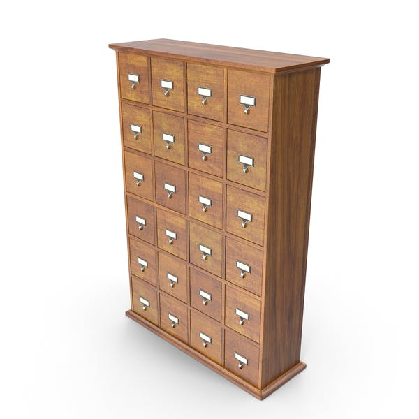 Thumbnail for Card Catalog Cabinet