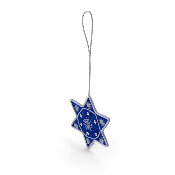 Thumbnail for Star of David Ornament
