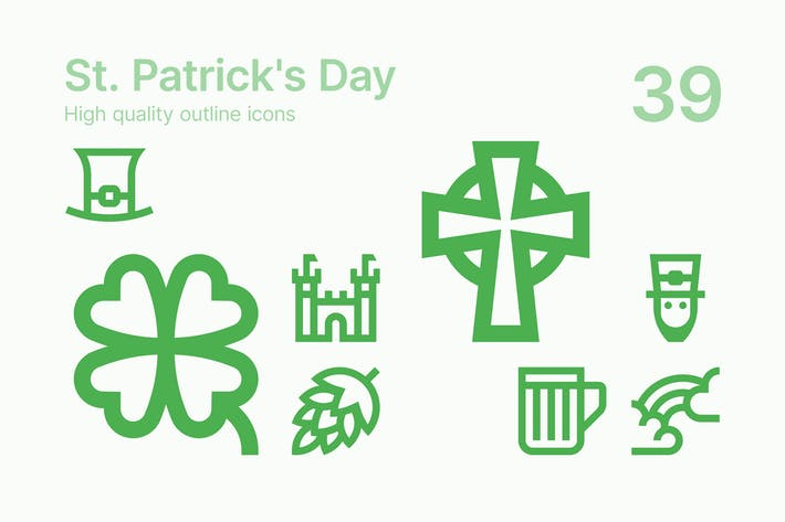 Thumbnail for St. Patrick's Day Icons