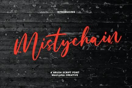 Mistychain Brush Script Font
