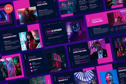 Neocypher - Cyberpunk Power Point