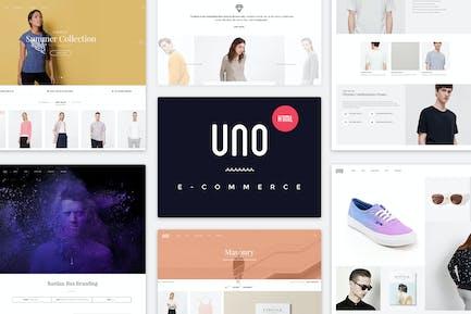 UNO | Multi Store Responsive HTML Template