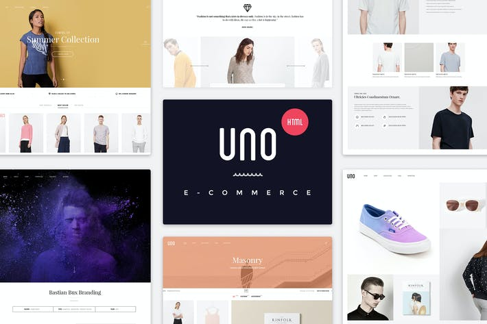 Thumbnail for UNO | Multi Store Responsive HTML Template