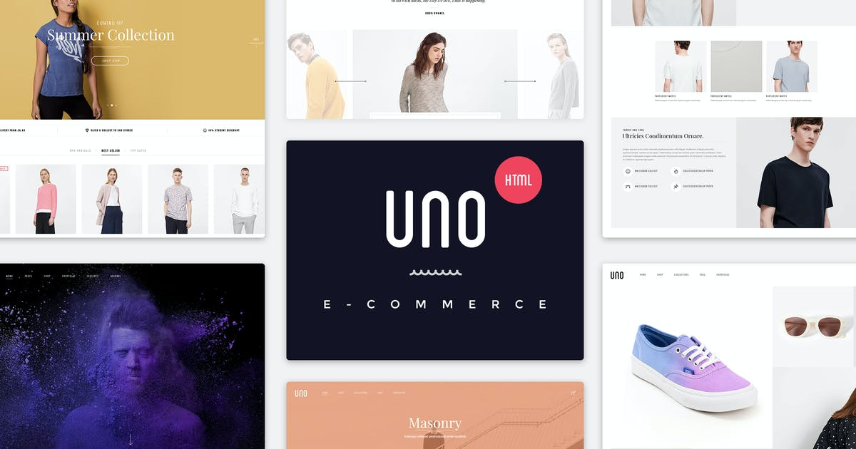 Download UNO   Multi Store Responsive HTML Template by EngoTheme