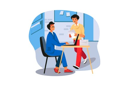 Illustration du bureau