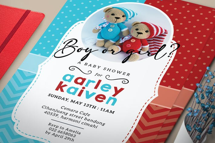 Thumbnail for Gender Reveal Party Invitation