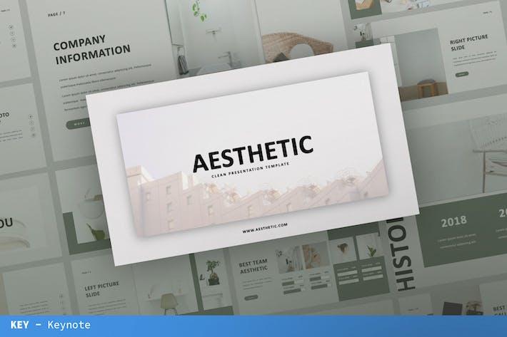 Aesthetic Keynote Presentation Template