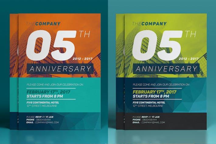 Cover Image For Anniversary Invitation