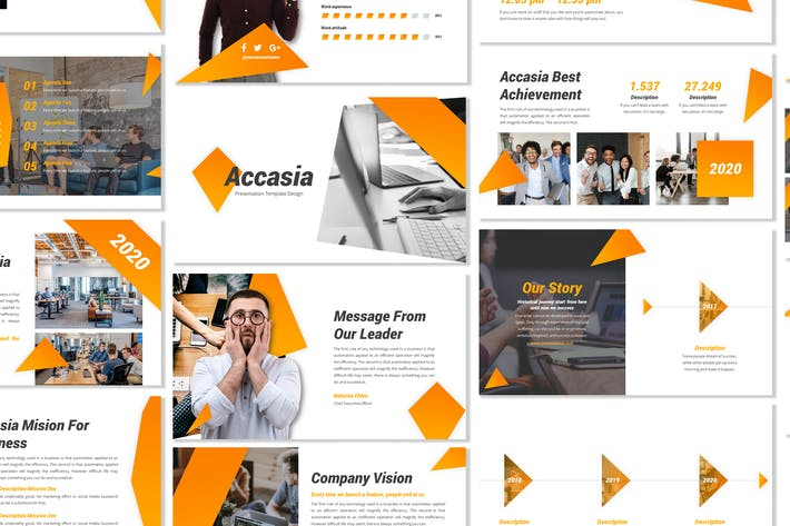 Thumbnail for Accasia - Business Template Prensentation