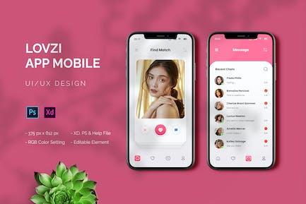 Lovzi - Appli Mobile
