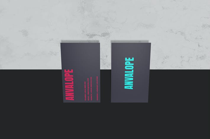 Thumbnail for Standing Business Card - Mockup