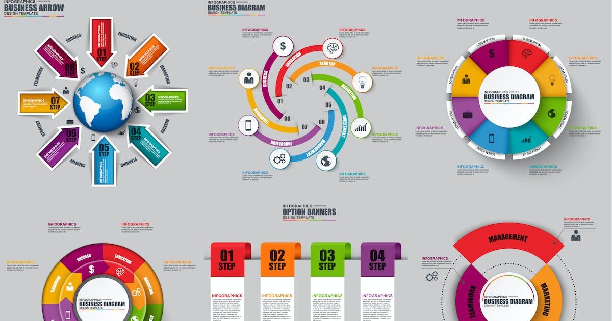 Download Set of Infographics by alexdndz