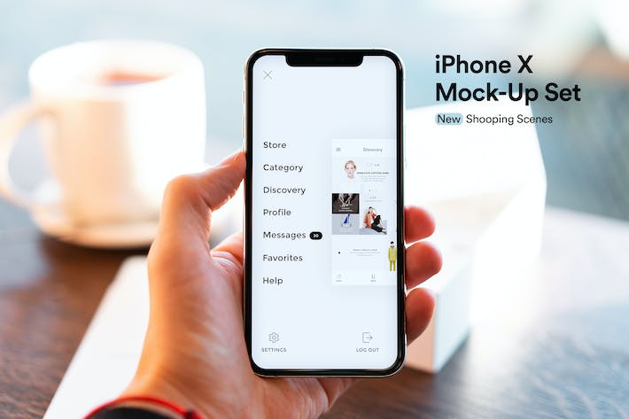 Thumbnail for iPhone App Mock-Up