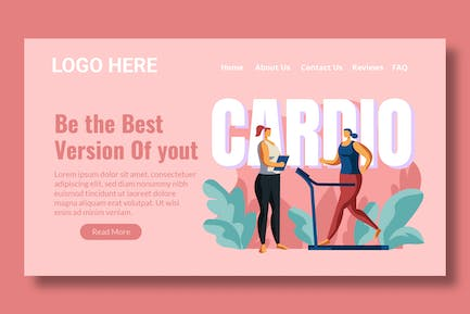 Personal Trainer - Landing Page
