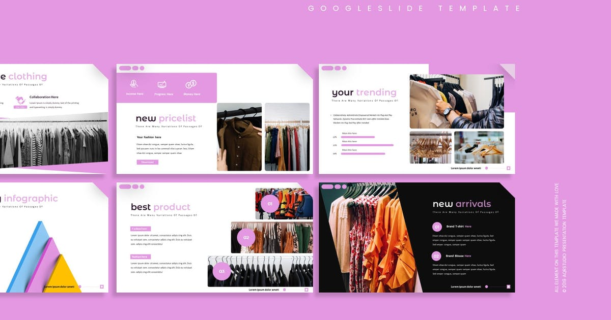 Download Fushion - Google Slides Template by aqrstudio