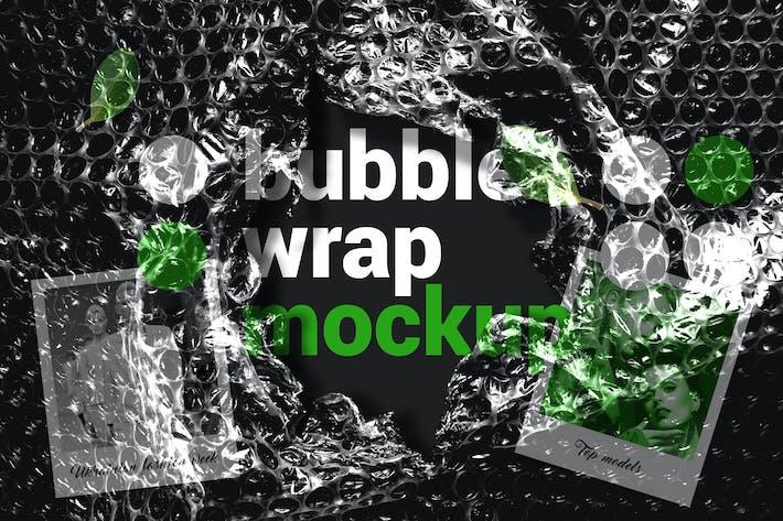 Thumbnail for Maqueta de envoltura de burbujas
