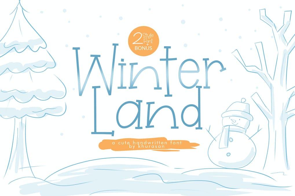 WinterLand-Font