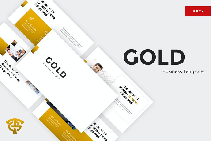 Gold Business - Powerpoint