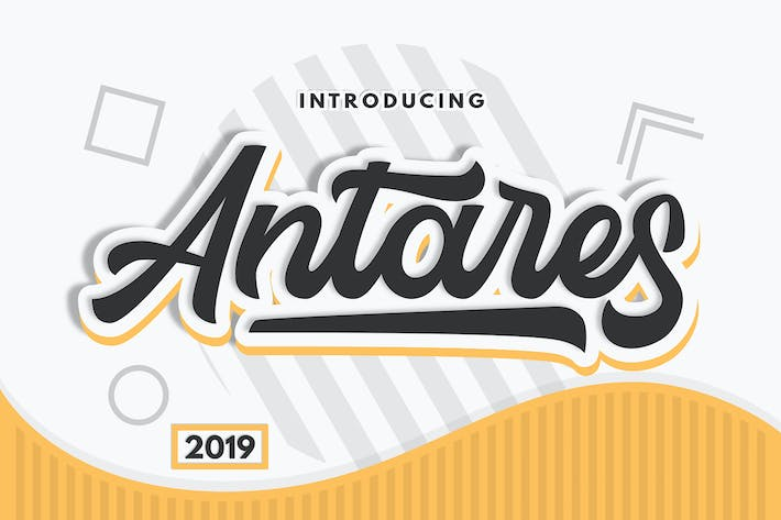 Thumbnail for Antares - Authentic Font