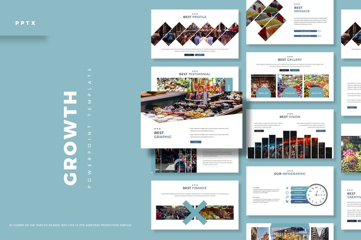 Thumbnail for Growth - Powerpoint Template