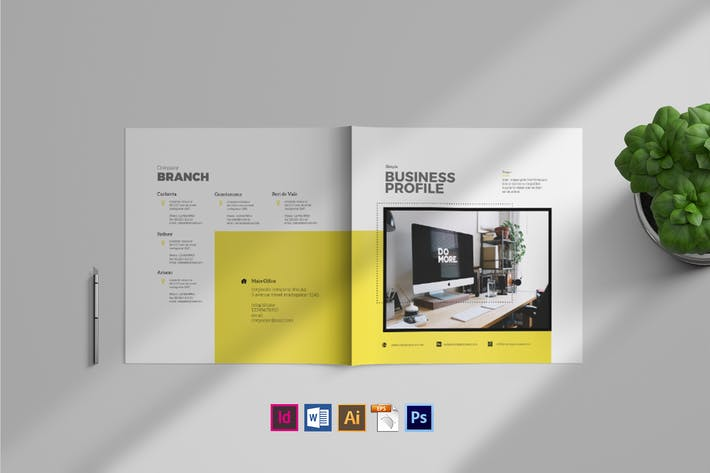 Thumbnail for Simple Brochure Template