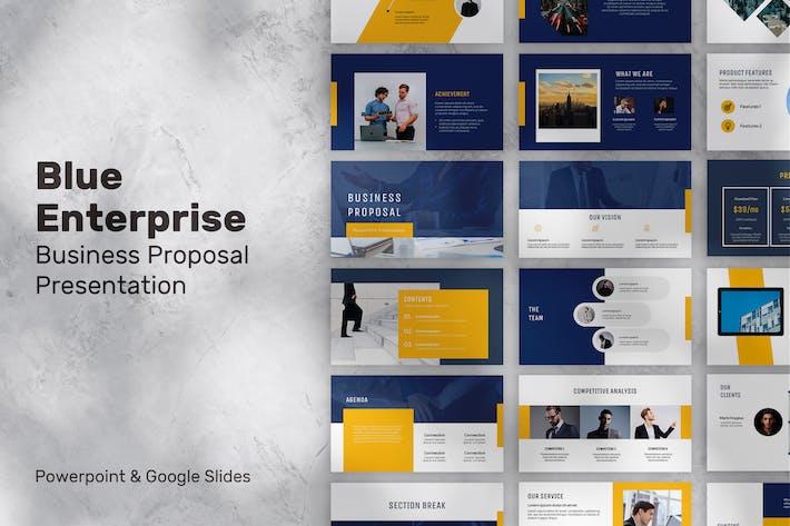 Blue Enterprise Presentation
