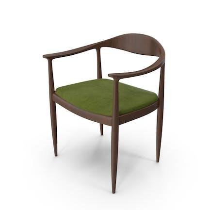 Скандинавское деревянное кресло