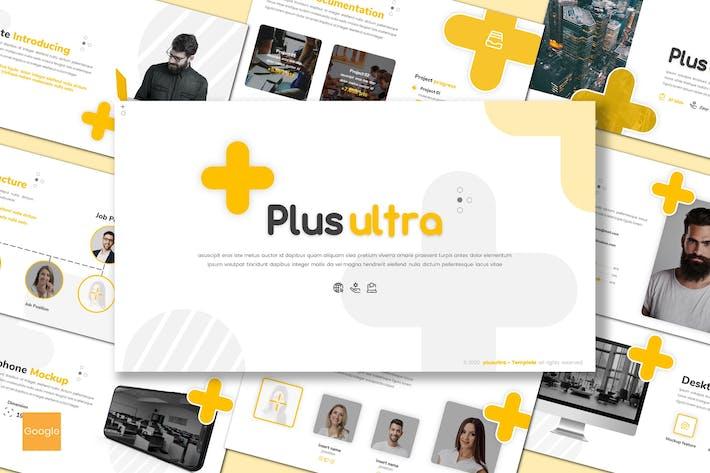 Thumbnail for Plus Ultra - Google Slides Template