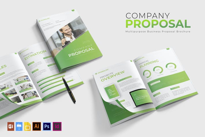 Thumbnail for Company | Proposal Template