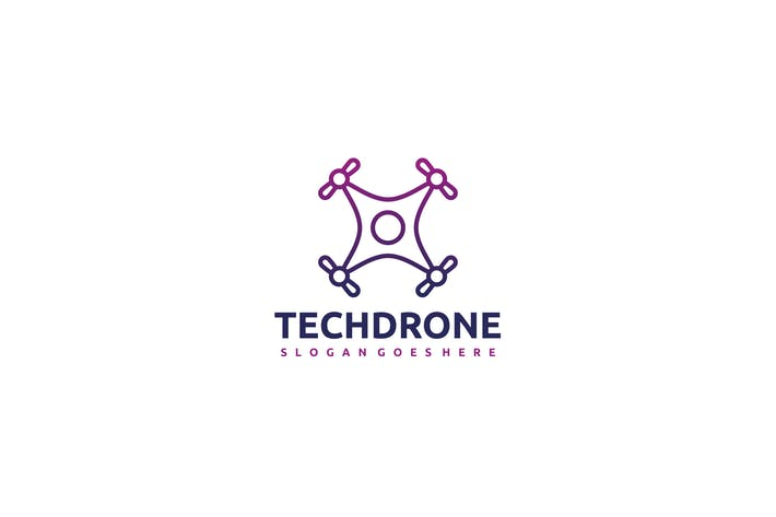 Thumbnail for Tech Drone Logo