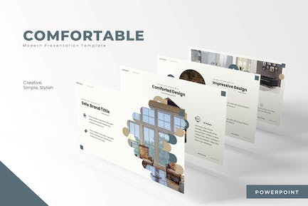 The Comfortable - Powerpoint Template