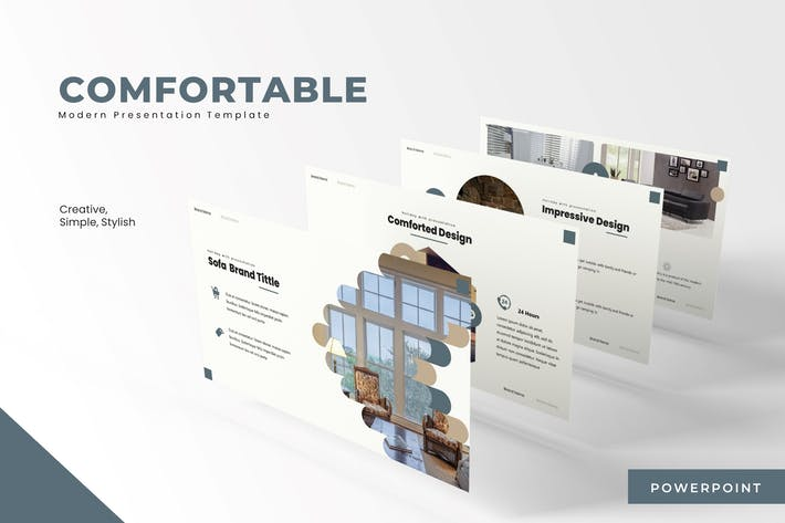 Thumbnail for The Comfortable - Powerpoint Template