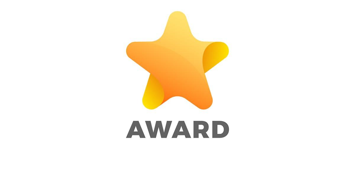 Download Star Logo abstract design Award by Sentavio