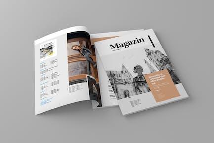Magazin - ZeitschriftenVorlage