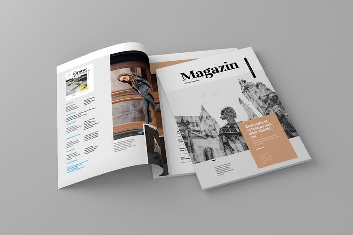 Thumbnail for Magazin - Magazine Template