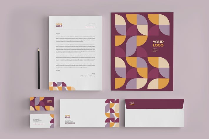 Thumbnail for Clean Modern Stationery