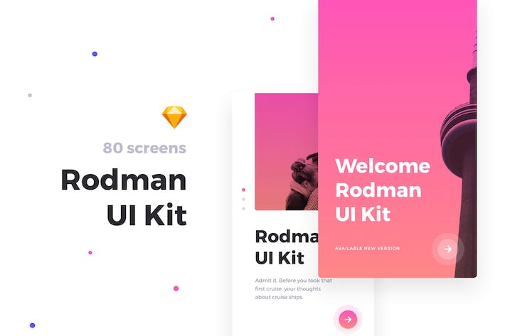 Thumbnail for Rodman Mobile UI Kit