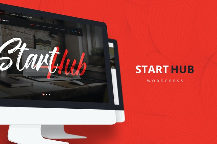 Thumbnail for StartHub — Multipurpose Corporate WordPress Theme