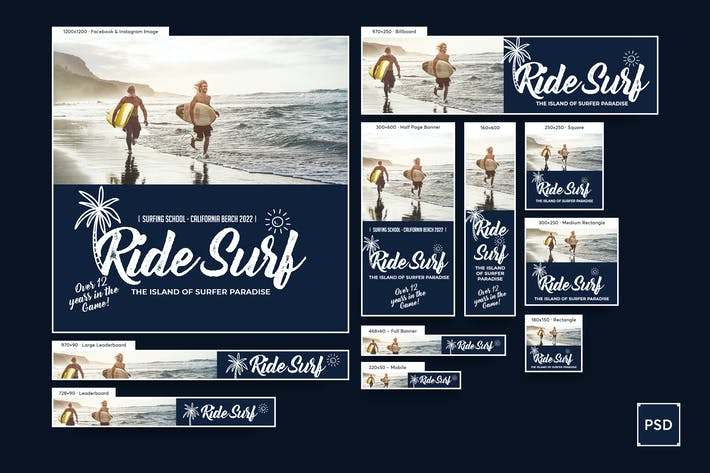 Thumbnail for Surf Training Banners Ad