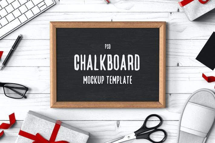 Chalkboard Mockup Template