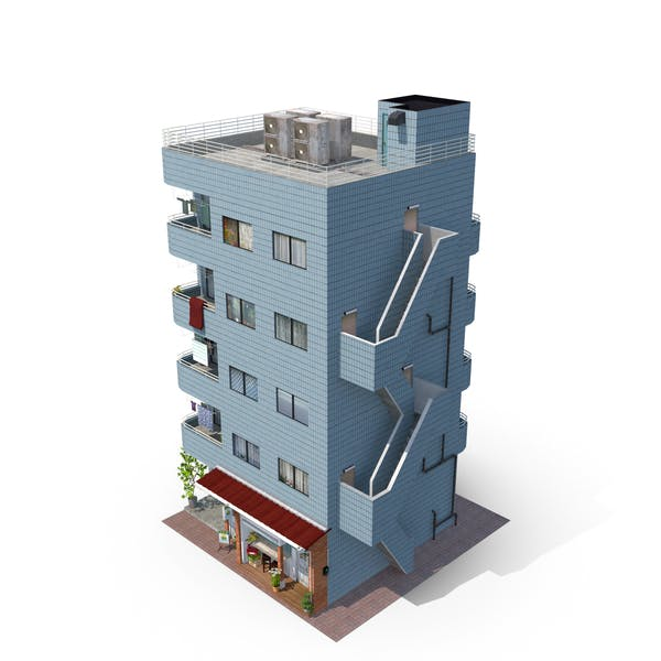Thumbnail for Japan Blue Building