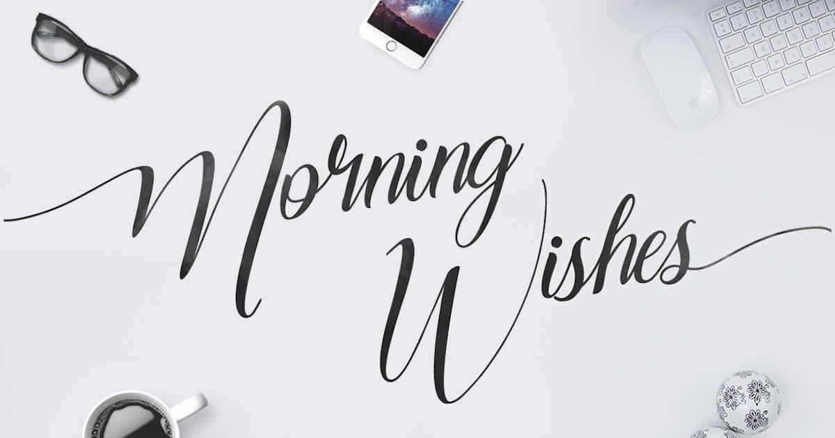 Download Morning Wishes by maulanacreative