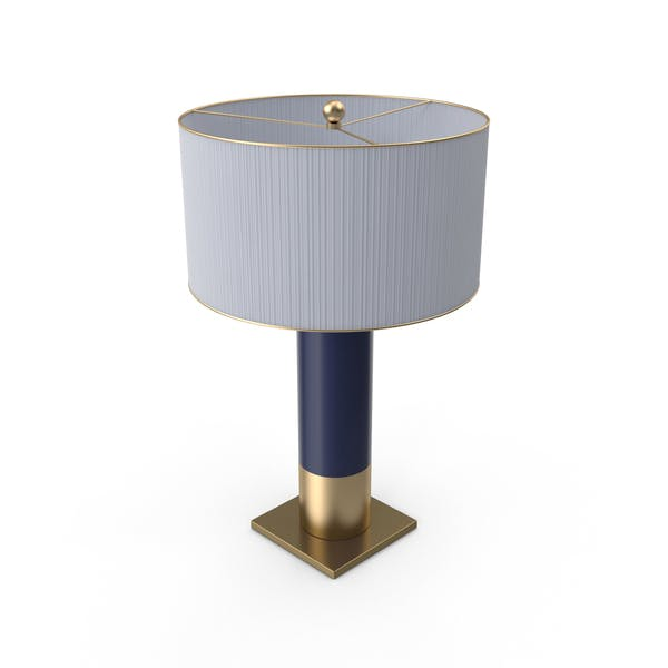 Thumbnail for Table Lamp with Blue Base